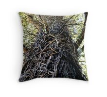 Twisted (in color) Throw Pillow