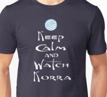 Keep Calm and Watch Korra Unisex T-Shirt