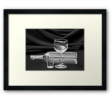 I Will Drink It Anyway I Can! Framed Print