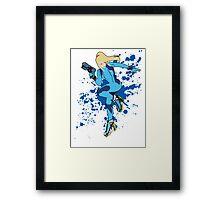 Zero Suit Samus - Super Smash Bros Framed Print