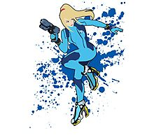 Zero Suit Samus - Super Smash Bros Photographic Print