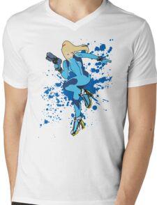 Zero Suit Samus - Super Smash Bros Mens V-Neck T-Shirt