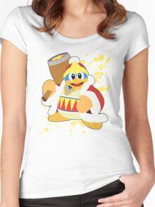 King Dedede - Super Smash Bros Women's Fitted Scoop T-Shirt
