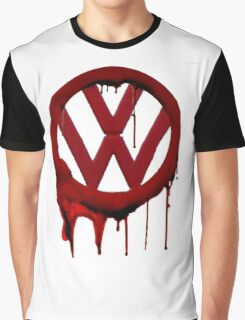 VW Blood drip Graphic T-Shirt