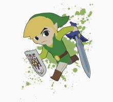 Toon Link - Super Smash Bros by PrincessCatanna