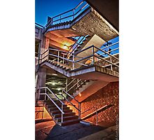 Broadway St. Staircase 2 Photographic Print