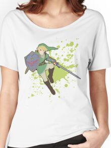 Link - Super Smash Bros Women's Relaxed Fit T-Shirt