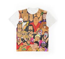 icons of wrestling Graphic T-Shirt