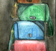 Stack Of Handbags by RobynLee