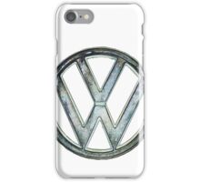 VW Logo coloured iPhone Case/Skin