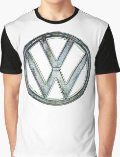 VW Logo coloured Graphic T-Shirt