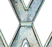 VW Logo coloured Sticker