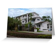 The Apartments, Trinity Beach, Suburb of Cairns. Que. Greeting Card