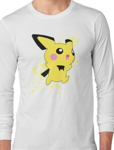 Pichu - Super Smash Bros Long Sleeve T-Shirt