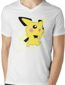 Pichu - Super Smash Bros Mens V-Neck T-Shirt