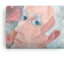 Portrait of a Poet Canvas Print