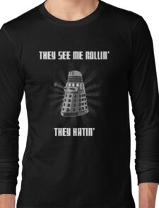 Doctor Who - DALEK - Exterminating Dirty Long Sleeve T-Shirt