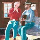 Cowboy Harmonica by Fred Jinkins