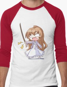 Angry Taiga Men's Baseball ¾ T-Shirt