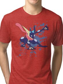 Greninja - Super Smash Bros Tri-blend T-Shirt