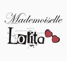 mademoiselle lolita Kids Tee