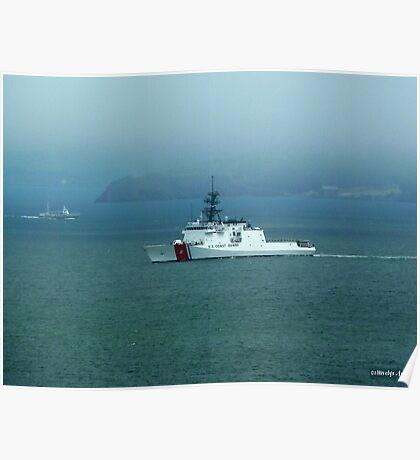 Coast Guard Ship Poster