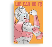 Arcee we can do it Canvas Print