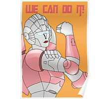 Arcee we can do it Poster