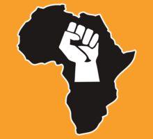 africa afrique fist revolution by huggymauve