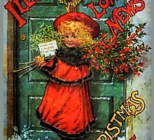 Christmas Card 1895 by © Kira Bodensted