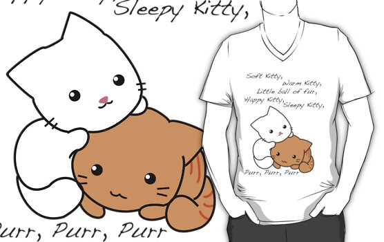 Soft Kitty by Crystal Potter