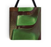 Green Chairs Tote Bag