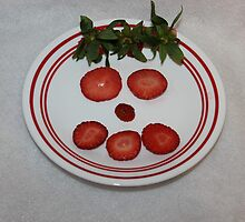 You Have Strawberry on Your Face by aprilann