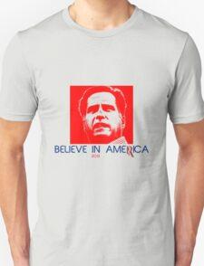 Politics: Mitt Romney Unisex T-Shirt