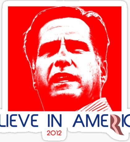 Politics: Mitt Romney Sticker