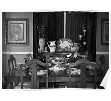 Grandmother's Dining Room Poster