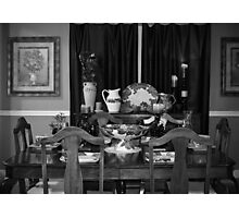 Grandmother's Dining Room Photographic Print
