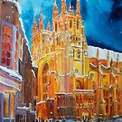CHRISTMAS CANTERBURY by Beatrice Cloake