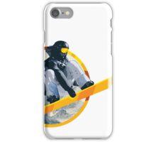 Snow Board Jump iPhone Case/Skin