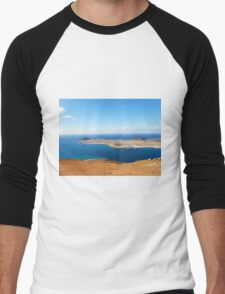 Isla Graciosa I Men's Baseball ¾ T-Shirt