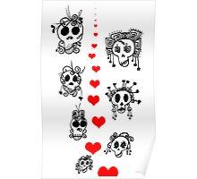Skellie Love Poster