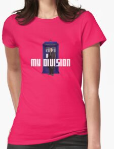 lestrade's new division Womens Fitted T-Shirt