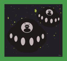 Alien invasion One Piece - Short Sleeve
