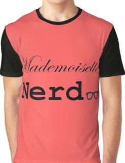 mademoiselle nerd Graphic T-Shirt
