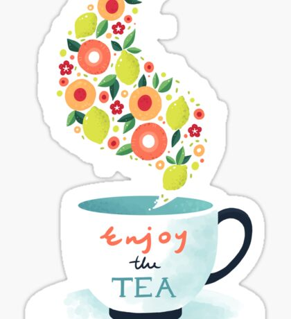 Enjoy the Tea Sticker
