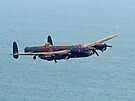 BBMF Lancaster Beachy Head by Colin  Williams Photography