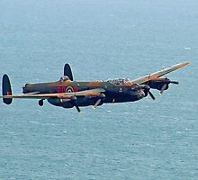 BBMF Lancaster Beachy Head by Colin J Williams Photography