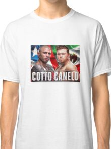 Miguel Cotto vs Canelo Alvarez Boxing Classic T-Shirt