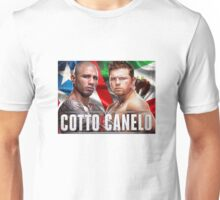 Miguel Cotto vs Canelo Alvarez Boxing Unisex T-Shirt