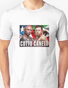 Miguel Cotto vs Canelo Alvarez T-Shirt
